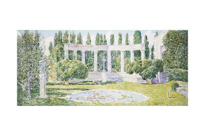 The Bartlett Gardens, Amagansett, 1933-Childe Hassam-Giclee Print
