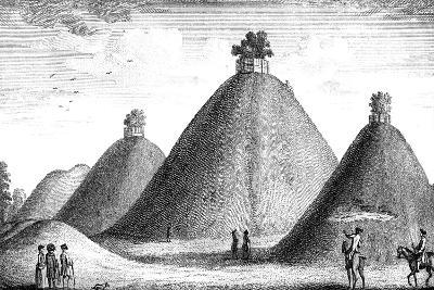 The Bartlow Hills, Raised over the Slain, 1016-June Barnato-Giclee Print