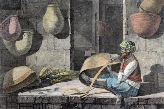 'The Basket Maker', c1798 (1822)-Unknown-Giclee Print