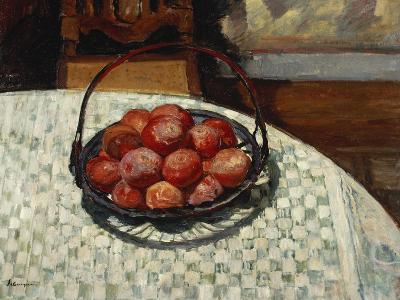 The Basket of Fruit-Henri Lebasque-Giclee Print