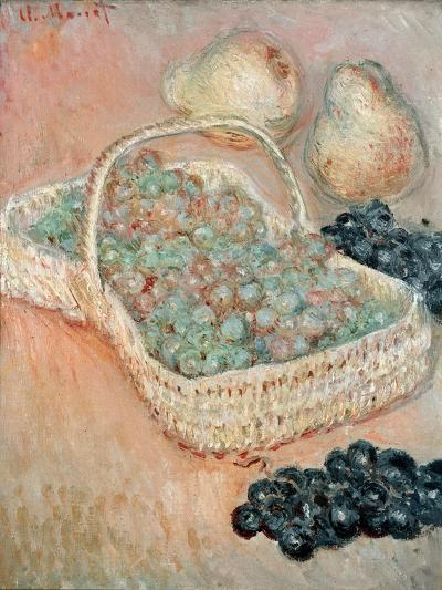The Basket of Grapes, 1884-Claude Monet-Giclee Print