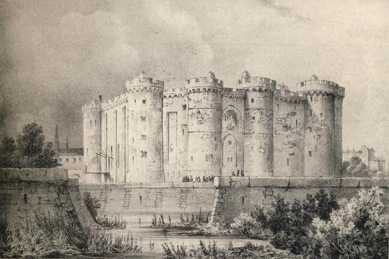 'The Bastille in 1700', 1915-Unknown-Giclee Print
