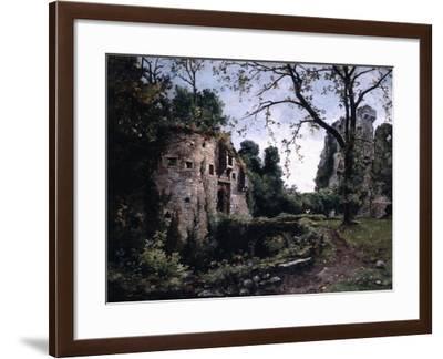 The Bastion of the Elms, 1884-Emmanuel Lansyer-Framed Giclee Print
