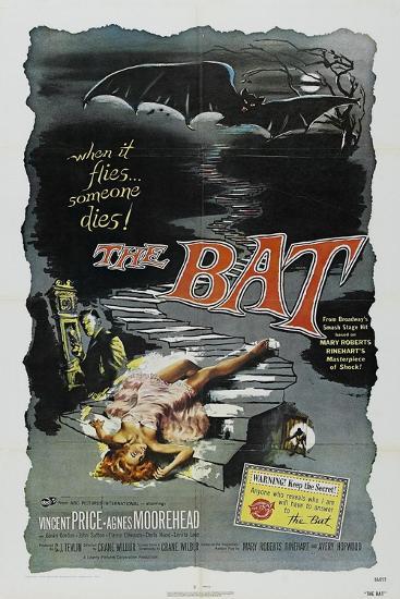 The Bat, 1959, Directed by Crane Wilbur--Giclee Print