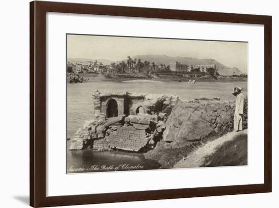 The Bath of Cleopatra, Aswan, Egypt--Framed Photographic Print