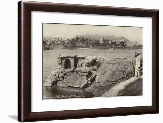 The Bath of Cleopatra, Aswan, Egypt--Framed Photographic Print