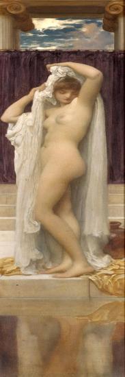 The Bath of Psyche-Frederick Leighton-Giclee Print