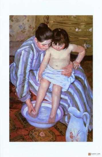 The Bath-Mary Cassatt-Giclee Print