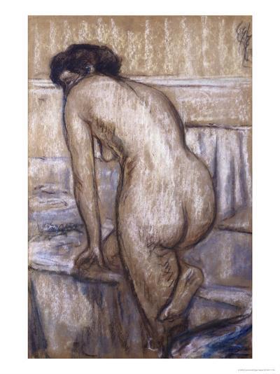 The Bath-Edgar Degas-Giclee Print