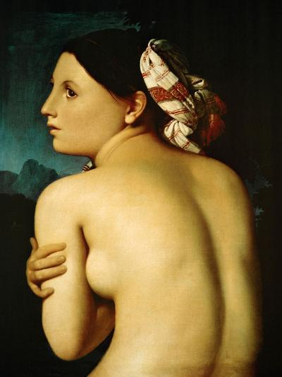 The Bather, 1807-Jean-Auguste-Dominique Ingres-Giclee Print