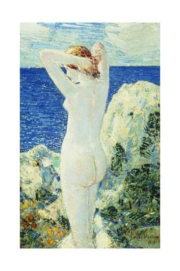 The Bather, 1919-Childe Hassam-Giclee Print