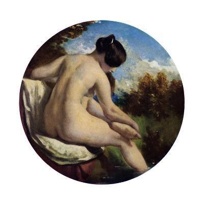 The Bather, 19th Century-William Etty-Giclee Print