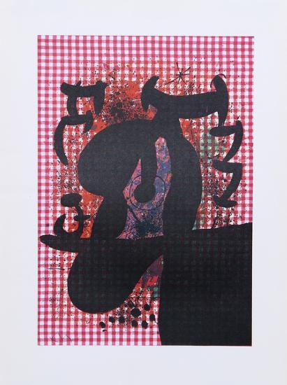 The Bather from Indelible Miro-Joan Mir?-Art Print