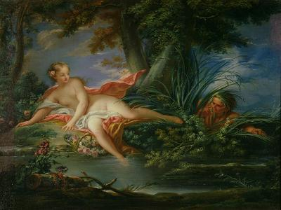 The Bather Surprised-Francois Boucher-Giclee Print