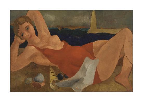 The Bather-Christopher Wood-Premium Giclee Print