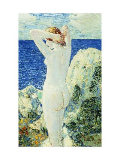 The Bather-Childe Hassam-Giclee Print