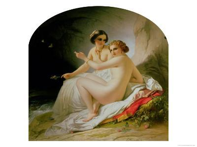 The Bathers, 1830-Louis Hersent-Giclee Print