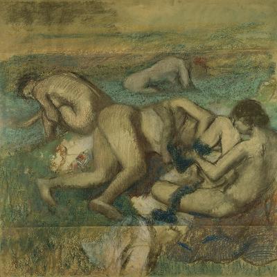 The Bathers, 1885-95-Edgar Degas-Giclee Print