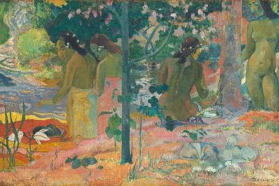 The Bathers, 1897-Paul Gauguin-Giclee Print