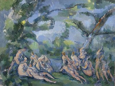 The Bathers, 1899-1904-Paul Cezanne-Giclee Print