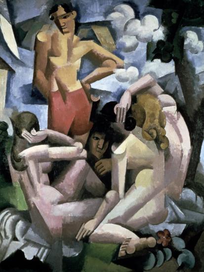 The Bathers, 1912-Roger de La Fresnaye-Giclee Print