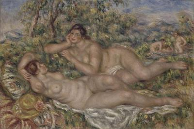 The Bathers, 1918-1919-Pierre-Auguste Renoir-Giclee Print