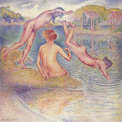 The Bathers (The Joyful Bathing); Les Baigneuses (La Joyeuse Baignade), 1899-1902-Henri Edmond Cross-Giclee Print