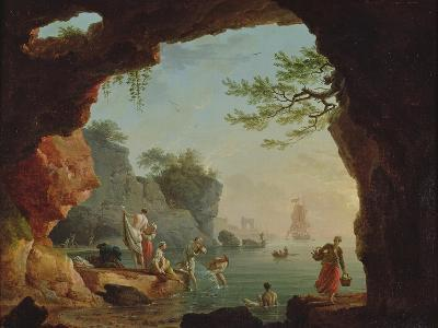 The Bathers-Claude Joseph Vernet-Giclee Print