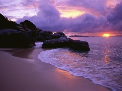 The Baths in Virgin Islands-Nik Wheeler-Photographic Print