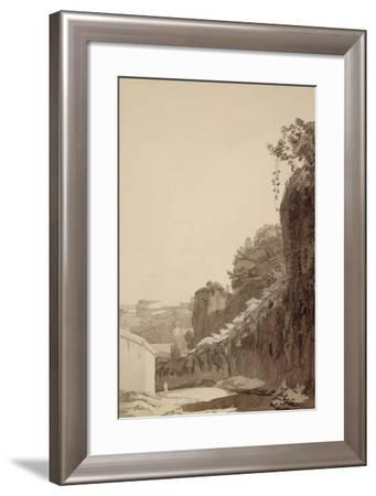 The Baths of Caracalla, 1781-Francis Towne-Framed Giclee Print