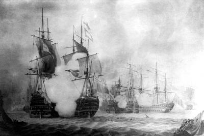 The Battle at Cape St Vincent, 19th Century--Giclee Print