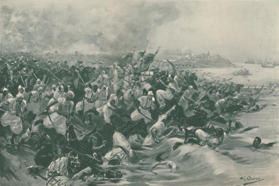 'The Battle of Aboukir', 1799, (1896)-Unknown-Giclee Print
