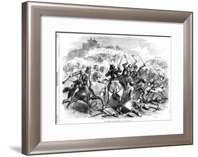 The Battle of Bannockburn, 24th June 1314--Framed Giclee Print
