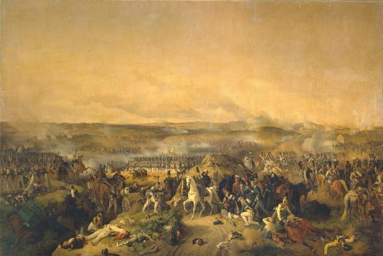 The Battle of Borodino on August 26, 1812, 1843-Peter Von Hess-Giclee Print