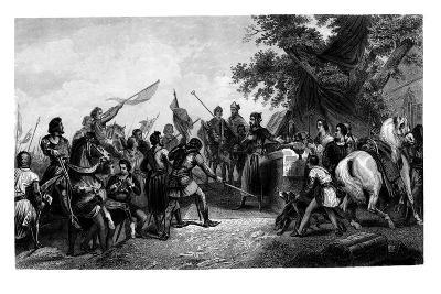 The Battle of Bouvines, 27 July 1214-CH Jeens-Giclee Print