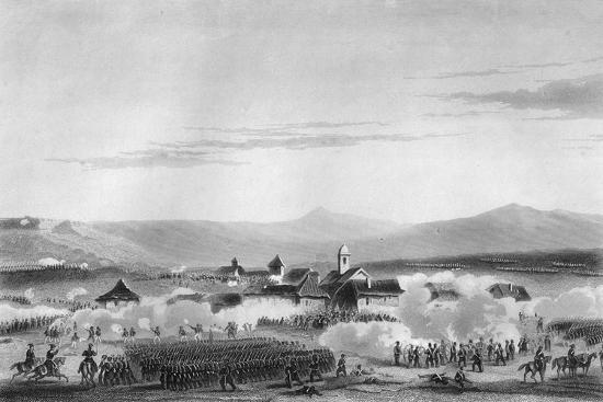 The Battle of Citate, During the Crimean War, 1854-W Hulland-Giclee Print