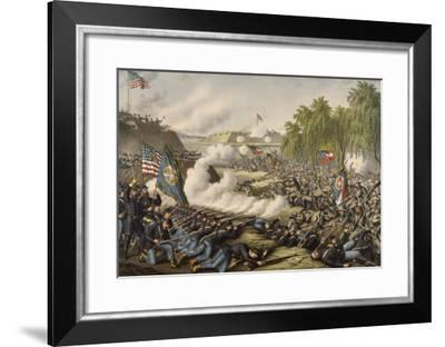The Battle of Corinth--Framed Giclee Print
