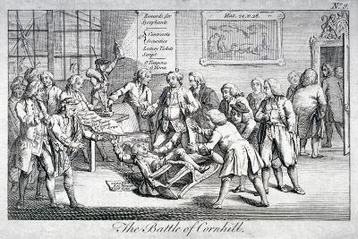 The Battle of Cornhill, 1769--Giclee Print