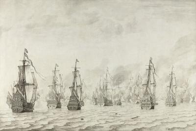 The Battle of Dunkirk, 1659-Willem van de Bettes the Younger-Giclee Print