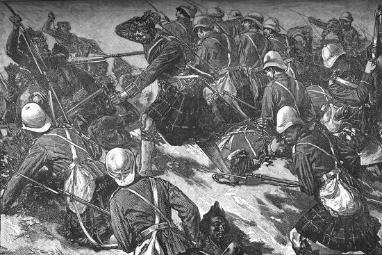 'The Battle of El Teb', c1881-85-Unknown-Giclee Print
