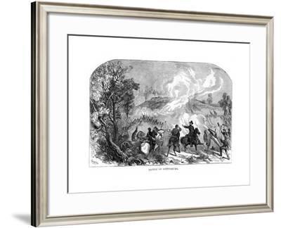 The Battle of Gettysburg, American Civil War, 1-3 July 1863--Framed Giclee Print