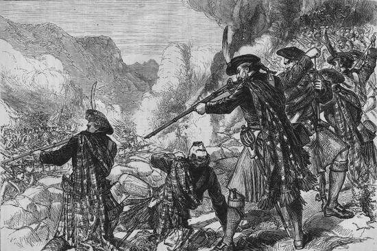 'The Battle of Glenshiel', 10 June 1719, (c1880)-Unknown-Giclee Print