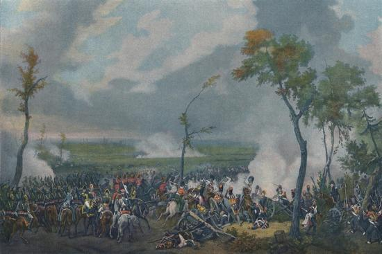 'The Battle of Hanau, October 30, 1813', (1896)-Unknown-Giclee Print