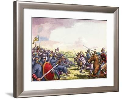 The Battle of Hastings-Pat Nicolle-Framed Giclee Print