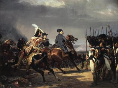 The Battle of Iena, 14 October 1806 - French Army Commanded by Napoleon Bonaparte, 1769-1821-Horace Vernet-Giclee Print