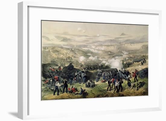 The Battle of Inkerman, 5th November 1854, 1855-Andrew Maclure-Framed Giclee Print