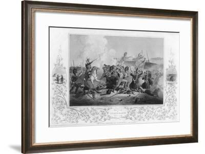 The Battle of Inkerman During the Crimean War, 1854-T Sherratt-Framed Giclee Print