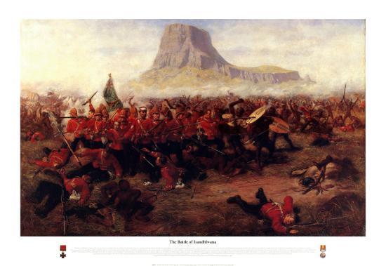The Battle of Isandhlwana, 1879-Charles Edwin Fripp-Art Print