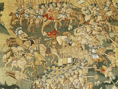 The Battle of Jarnac and the Assassination of Louis I of Bourbon (1530-69) 1570-80--Giclee Print