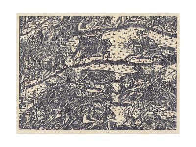 The Battle of Kulikovo--Giclee Print
